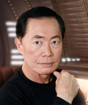 A photo of Geroge Takei