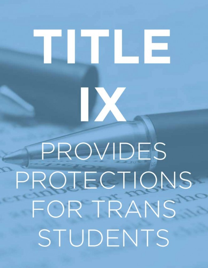 Judge Throws Out Title Ix Argument In Trans Bathroom Use Case Glbt News