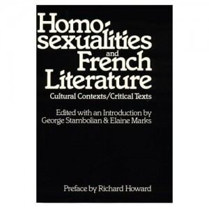 Cover of Homosexualities and French Literature: Cultural Context and Critical Texts