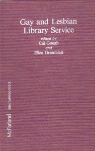 Cover of Gay and Lesbian Library Service