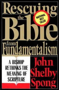 Cover of Rescuing the Bible from Fundamentalism: A Bishop Rethinks the Meaning of Scripture