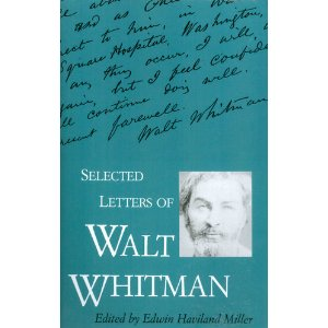 Cover of Selected Letters of Walt Whitman
