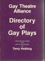 Helbing Gay Theatre Alliance Directory of Plays